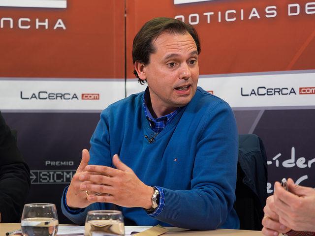 Juan Pedro Molina, presidente de la Asociación de Docentes de Economía en Secundaria de C-LM (ADES-CLM).