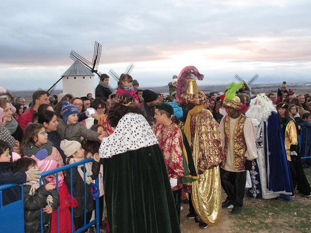 Cabalgata de Reyes de Campo de Criptana 2018.