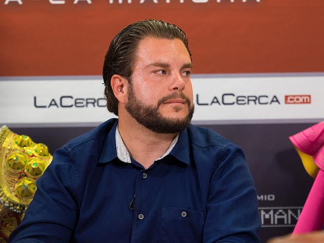 """Óscar Colmenar Cantos, nieto de Juan Cantos \""""Pimpi de Albacete\"""""""