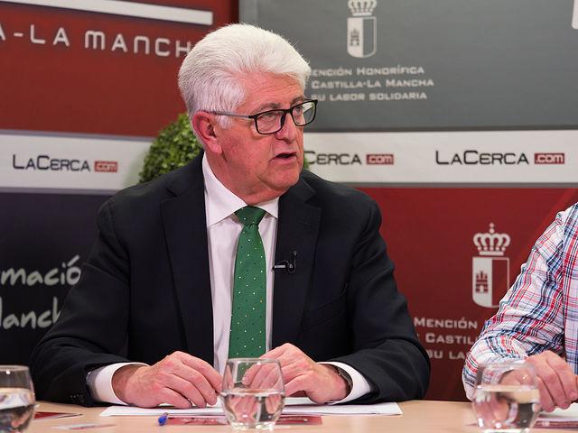José Ruiz, presidente de la Asociación de Empresas Agroalimentarias de Albacete