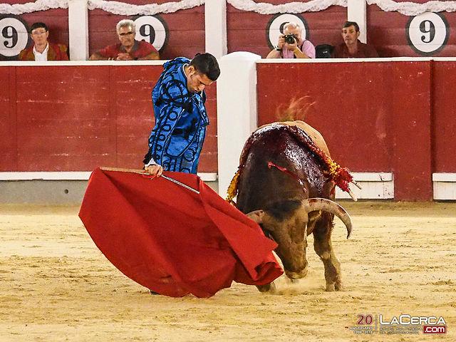 Talavante - Segundo toro - Corrida 09-09-17