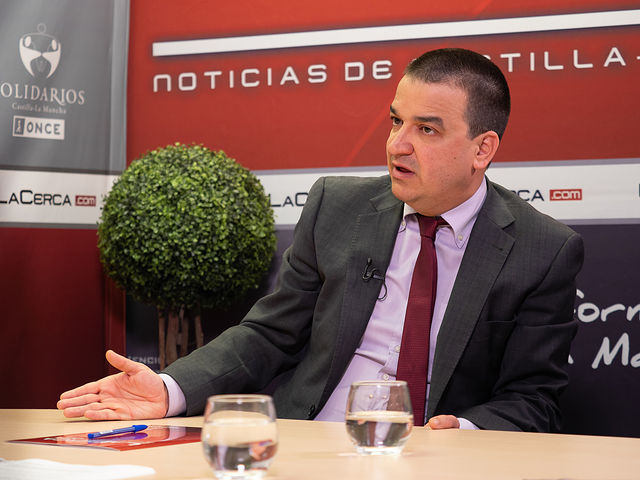 Francisco Martínez Arroyo, consejero de Agricultura, Medio Ambiente y Desarrollo Rural