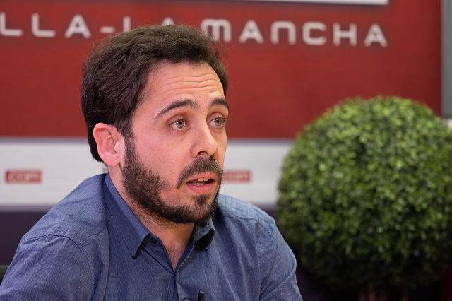 Francisco José Casamayor, candidato al Congreso por Unidas Podemos en Albacete