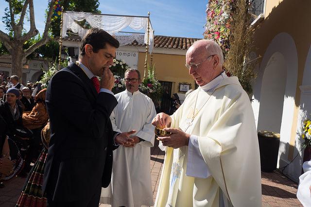Misa en Honor a la Virgen de Los Llanos organizada por la FAVA