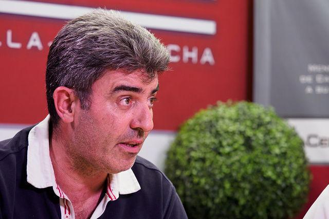Guillermo Tauste Gómez, presidente de la Asociación de Vecinos del Barrio Universidad. Foto: Manuel Lozano Garcia / La Cerca