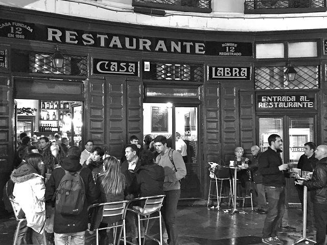 Taberna Casa Labra - Madrid