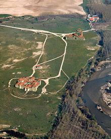 Vista virtual del Parque Arqueológico de Carranque en la provincia de Toledo.