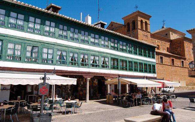 Plaza Mayor de Almagro (Ciudad Real).