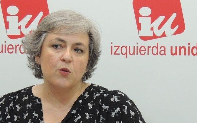 Isabel Álvarez, Responsable de Mujer de IU CLM.