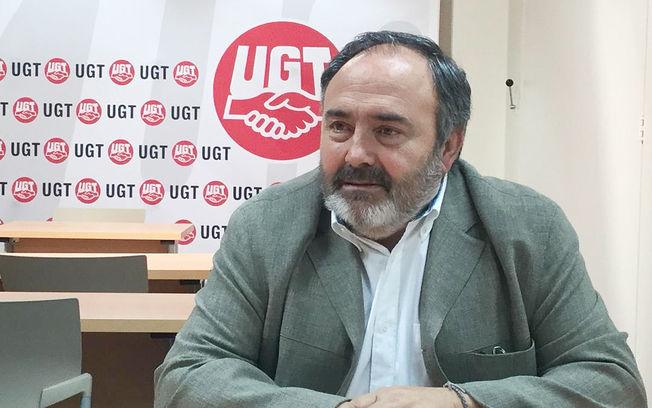 Carlos Pedrosa secretario general UGT CLM.