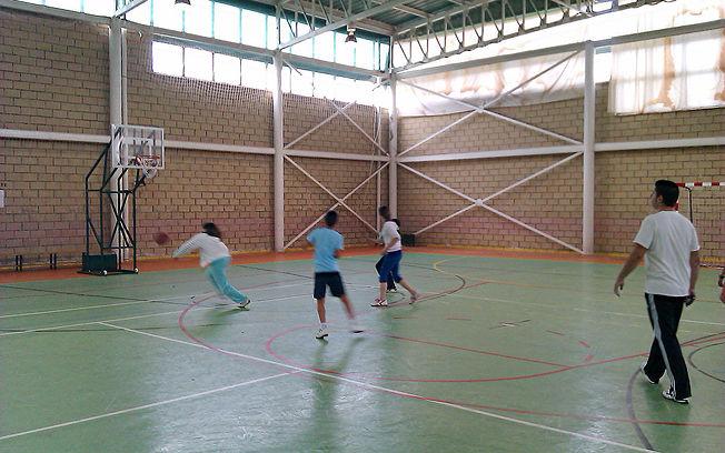 Actividad baloncestística de las Escuelas Deportivas de Argamasilla de Calatrava.