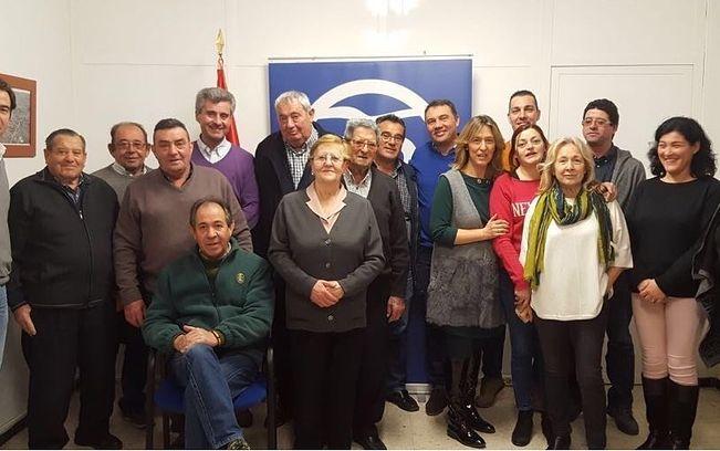 Renovación Junta Local PP de Yebra, febrero 2018