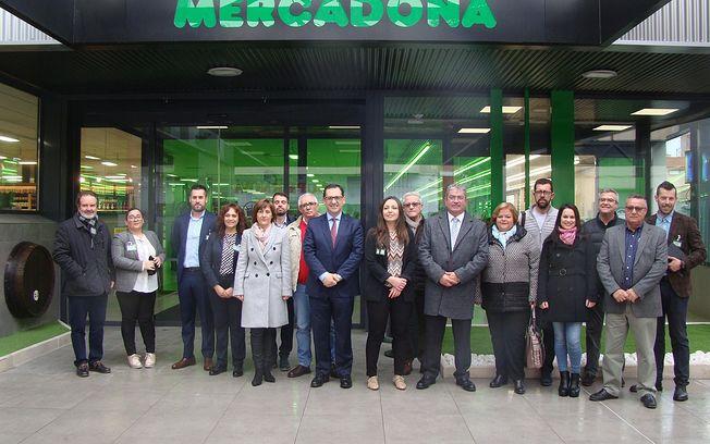 Reapertura e inauguración de Mercadona en Quintanar de la Orden.
