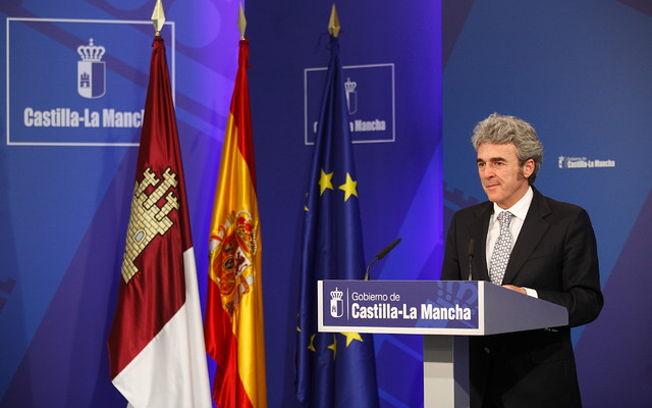 Esteban informa del Consejo de Gobierno I. Foto: JCCM.