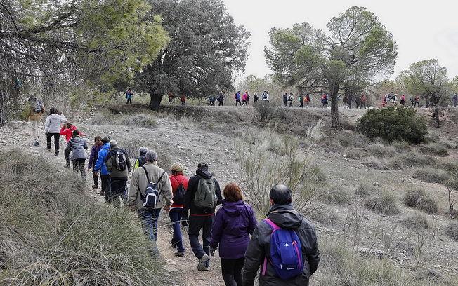 V ruta senderista de la diputación provincial de Albacete