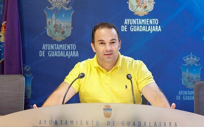 Jaime Carnicero, portavoz del Grupo Popular en el Ayuntamiento de Guadalajara.