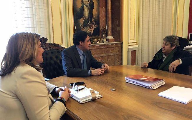 Reunión con la Asociación Amigos Moteros de Cuenca.