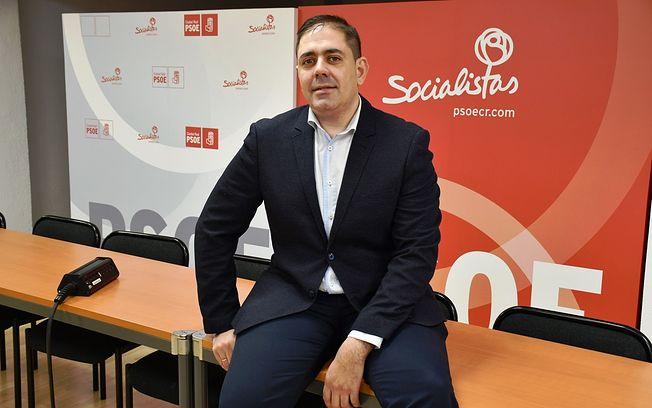 José Manuel Bolaños, secretario de Organización del PSOE provincial.