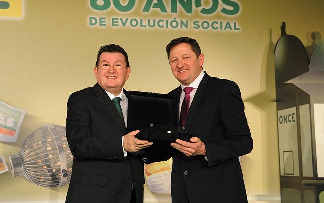 José María Andrés Mendieta, elegido mejor vendedor de la ONCE 2017 en Castilla-La Mancha.