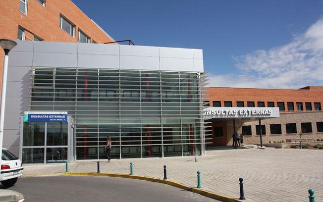 Imagen del acceso a la nueva área de Consultas Externas del Hospital La Mancha Centro, de Alcázar de San Juan (Ciudad Real).