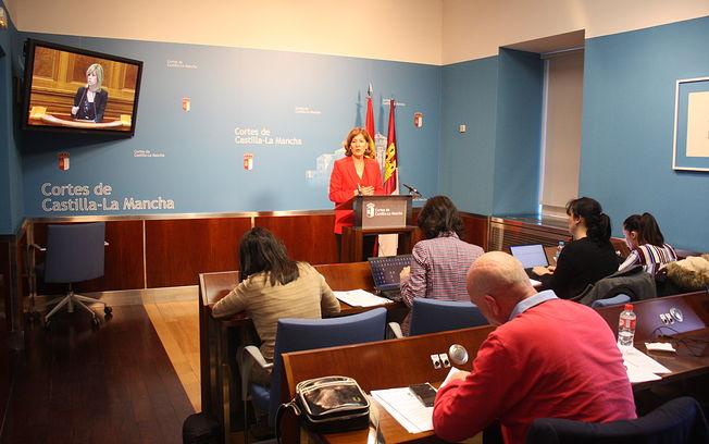 Blanca Fernández, diputada regional PSOE.