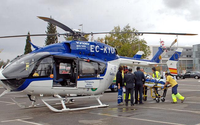 Servicio de emergencias de Castilla-La Mancha. Archivo.