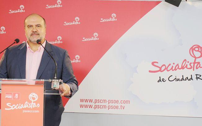 Fausto Marín, diputado regional del PSOE.