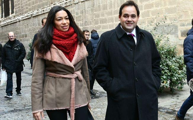Paco Núñez y Claudia Alonso