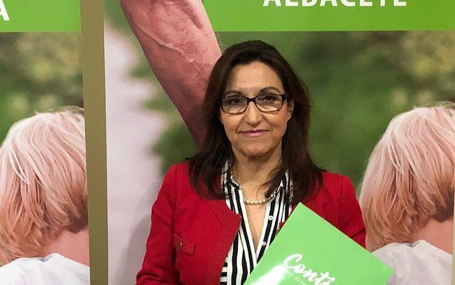 Esperanza Escribano, responsable de la Secretaría de Asuntos Sociales.