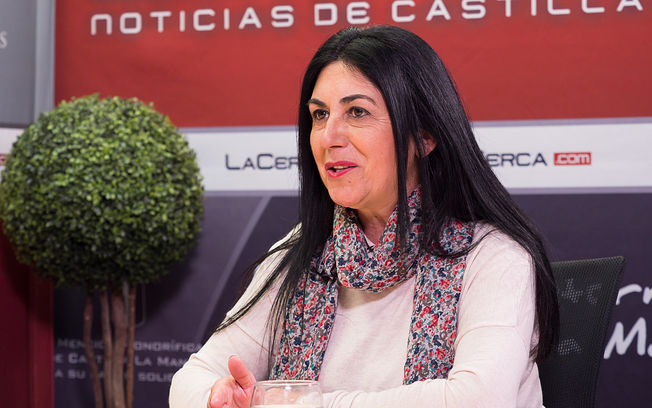 María José Moreno Docón, alcaldesa de Liétor