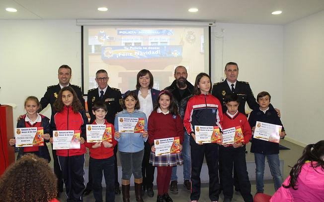 Entrega de premios del Concurso de la Policía Nacional