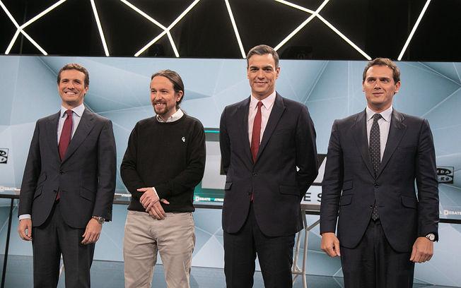 Debate 23 de abril en Atresmedia.