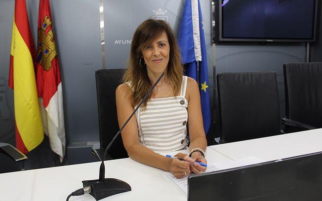 María Gil, concejala de Acción Social en el Ayutamiento de Albacete.