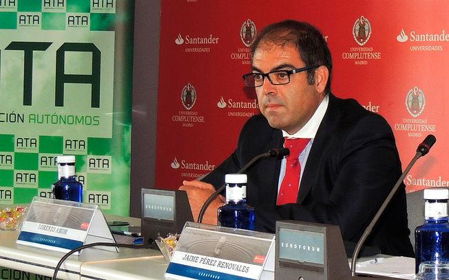 Lorenzo Amor, presidente de la Federación Nacional de Asociaciones de Trabajadores Autónomos (ATA). Foto de Archivo.