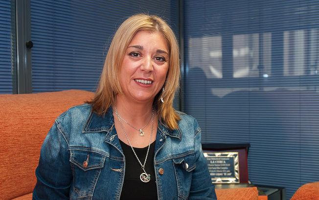 Toñi Pastrana, presidenta de la Asociación de Mujeres Empresarias de Albacete y Provincia (AMEPAP).