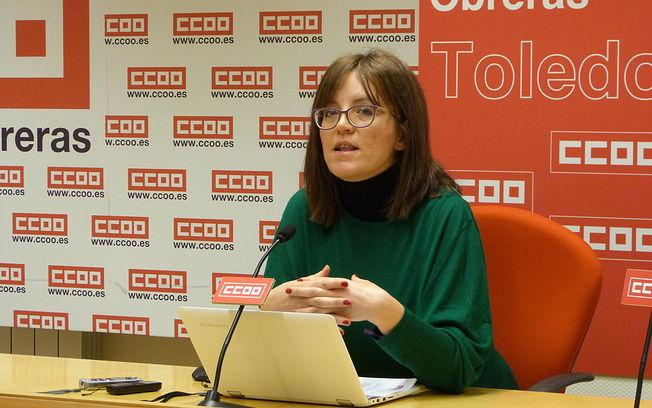Mª Ángeles Castellanos, secretaria de Empleo y Políticas Sociales de CCOO CLM.