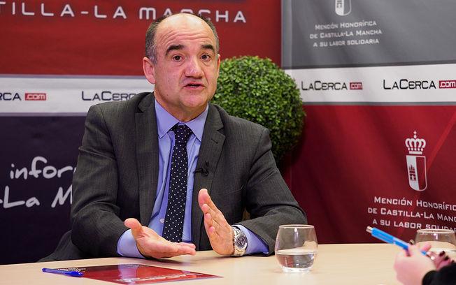 Valentín Bueno, alcalde de Villarrobledo. Foto: Manuel Lozano García / La Cerca