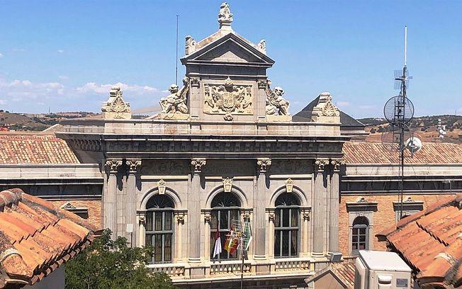 Fachada Diputación de Toledo.