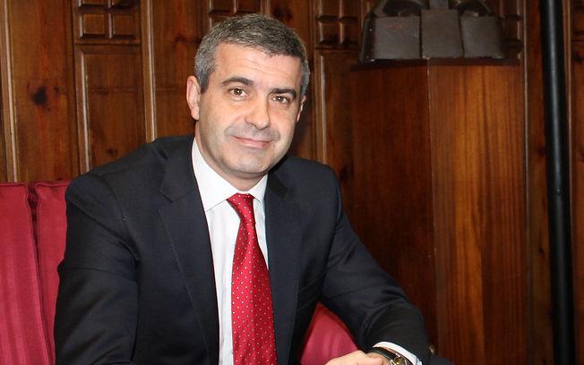 Álvaro Gutiérrez, presidente de la Diputación Provincial de Toledo