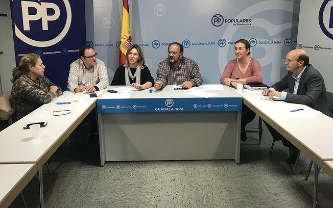 Reunión de la Comisión provincial de Sanidad.