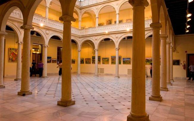 Claustro del Palacio de la Asunción.