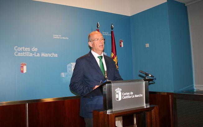 José Manuel Tortosa, portavoz de Economía y Presupuestos del Grupo Parlamentario Popular en las Cortes regionales.