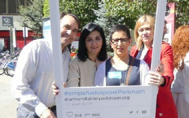 Cs Albacete se suma a la conmemoración del Día Mundial del Parkinson.