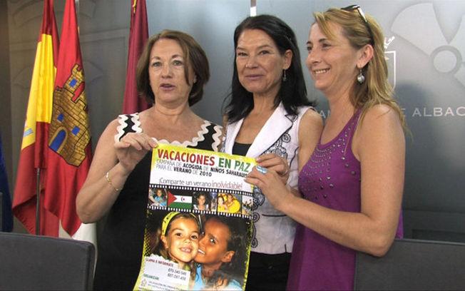 Presentación oficial de la campaña de acogida de niños saharauis para el verano 2010 dentro del programa