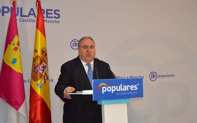 Vicente Tirado, vicesecretario general de Política Autonómica y Local del Partido Popular nacional. Archivo.